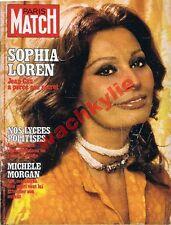 Paris Match n°1461 du 27/05/1977 Sophia Loren Beyrouth Mohamed Ali Morgan