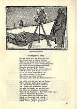 Wk1 navidad en el valle, entre Dr. becker: como's en Navidad en lille parecía 1915