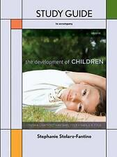 Study Guide for the Development of Children by Cynthia Lightfoot, Michael...