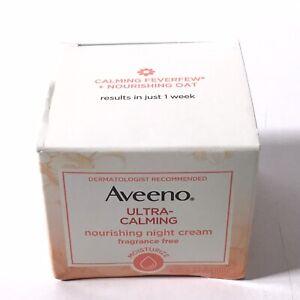 AVEENO Naturals Ultra-Calming Nourishing Night Cream, Frag Free 1.70 oz.   6C31