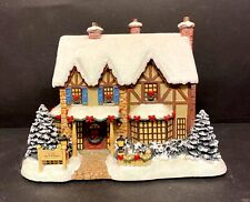 "Thomas Kinkade ""Comfort And Joy Bed and Breakfast"" Seaside Christmas Village"