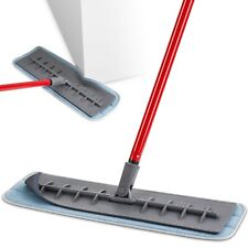 """Tyroler Microfiber Mop Wet and Dry Pad (18"""" / 45cm Wide) Flexible Silicone Head"""