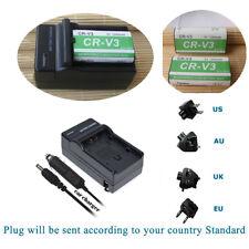2 CR-V3 CRV3 Rechargeable Battery + Charger for Kodak Camera NEW