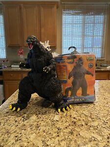 Large Godzilla Toy + Godzilla Inflatable Costume (Adult Size)