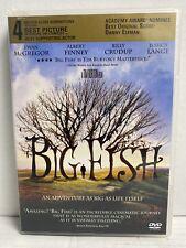 Big Fish Dvd Tim Burton's Masterpiece Pg-13