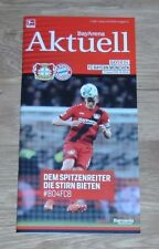 Programm Bayer Leverkusen - FC Bayern München 12.01.2018 - 1.Liga 2017/18