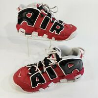 Nike Air Uptempo GS Varsity Red Sz 5.5Y Boys Shoes 415082-600 Chicago Bulls 1995