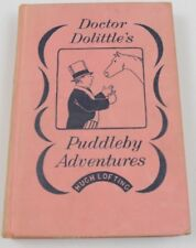 Doctor Dolittle's Puddleby Adventures by Hugh Lofting 1952 1st Ed. Ted Danson