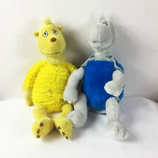 "TB8 Kohls Dr Seuss Turtle Yellow Lot Plush 13"" Stuffed Toy Lovey"