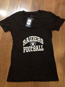 Ladies Oakland/Vegas Raiders T-Shirt from Fanatics- Size Large New W/Tags