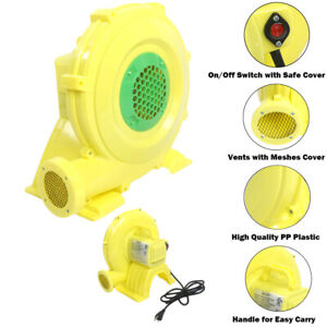 Inflatable Bounce House Air Pump Blower Fan - 680 Watt 0.92HP
