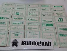1984 Hometown Monopoly Dallas Board Game All 35 Title Deeds Pieces Only