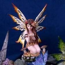 More details for autumn hawthorn 16cm fairy figurine fantasy ornament pixie statuette