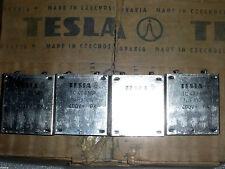 1uF 400V  TESLA  PIO AUDIO Capacitors NOS LOT OF 2pcs.RARE!!!