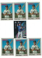 7) Nicky Lopez 2019 Topps Heritage High Numbers /Bowman Rookie Lot ROYALS