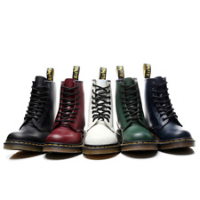 Dr. Martens 1460 Boots 8 Lace Up Artificial Leather Boot Unisex High Top Shoes