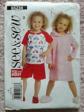 See & Sew 5234 Pattern (Uncut) - Next Day Shipping - Size 6 to 8