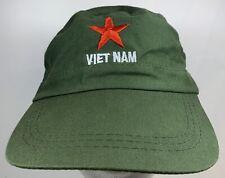 Vietnam Military Cap Olive Flat Hat Che Guevara Red Star Patrol War Costume