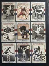 1991 Impel U.S. Olympic HOF 9-Card Lot (Track & Field GOLD Medalists) LOT 2