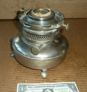 Vintage Kerosene,Oil Denat.Alcohol Lamp,Heater Base,Old Burner Tool,Cook,Heat or