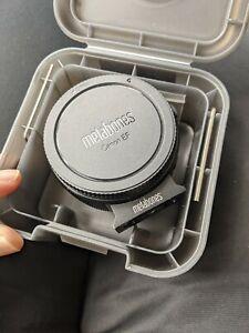 Metabones Canon EF Lens to Sony E Mount Mark IV