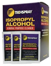 More details for techspray general purpose cleaner, wipes, ipa, pack of 50