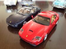 1:18 Diecast Ferrari Set / Collection 550 Maranello ( HotWh ) & 456 GT ( Bburago