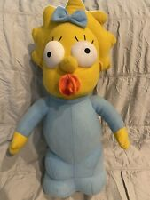 The Simpsons Maggie With Pacifier Plush Nanco 2005 20th Century Fox