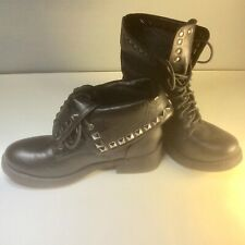 Krush grunge rock goth festival ladies boots UK 5