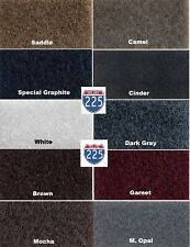 Durable Upholstery Multi Color Un-Backed Automotive Carpet 40