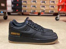 Nike Air Force 1 Gore Tex Low Mens Shoes Black Light Carbon CK2630 001 Multi Sz