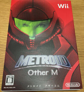 Metroid Other M Wii Nintendo Wii Complete with Cartridge, Case and Manual Tested