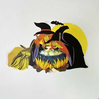 Vintage Halloween Witches Diecut