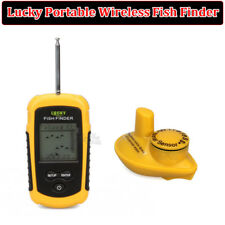 Lucky Portable 100m Wireless Fishfinder Fishing Alarm 40M/130FT Sonar Depth Sea