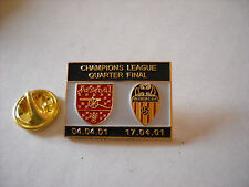 a1 VALENCIA - ARSENAL cup uefa champions league 2001 spilla football pin