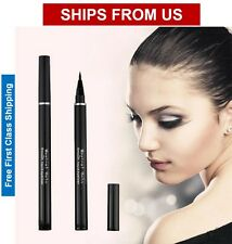 Water Proof Black Liquid Eye Liner Felt Tip Eyeliner Pen Pencil - USA Seller