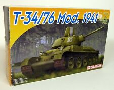 Dragon 1/72 Scale 7259 T-34/76 Mod. 1941 Army Tank Plastic Model Kit