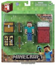 Minecraft Core Player Survival Pack Action Figure NEW