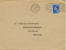 2414 1936 King Edward VIII 2 1/2 d Commercially used FDC LONDON F.S.