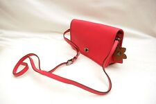 NWT COACH Glove Tanned Leather Turnlock Crossbody #38495 Dahlia
