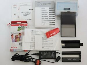 Canon Selphy CP400 Thermal Printer with Original Accessories Bundle