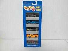 Hot Wheels 5 Pack Gift Set Chevrolet with Corvette & Camaro 390