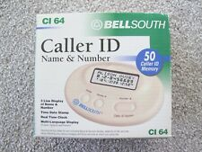 BELLSOUTH CL 64 Caller ID 50 Name & Number Memory 3 Language Display - Brand New