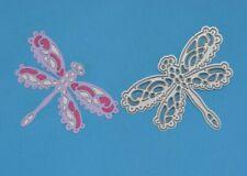 Lace Dragonfly Damselfly Metal Cutting Die, Card Making, **UK SELLER**