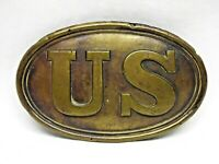 US Civil War Belt Buckle Puppy Paws Not Dug