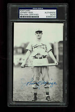 JOHNNNY MIZE  SIGNED POSTCARD  AUTOGRAPGHED  PSA/DNA 83895022