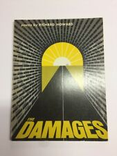 The Damages Poems by Richard Howard First Edition Signed Softcover Free US Ship
