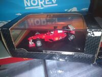 F1 2000 RACING Rubens Barrichello HOT WHEELS RACING 1/43  NEUVE EN BOITE