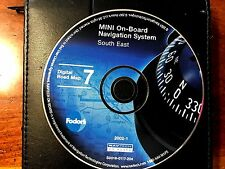 OEM BMW  & MINI NAVIGATION SYSTEM SOUTH EAST# 7 PART# S0018-0117-204 VER- 2002.1