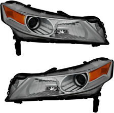HID Headlights Headlamps NEW Pair Set of 2 for 2009 2010 2011 Acura TL